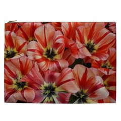 Tulips Flowers Spring Cosmetic Bag (xxl)