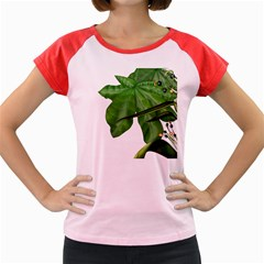 Plant Berry Leaves Green Flower Women s Cap Sleeve T Shirt by BangZart