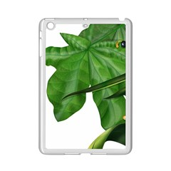 Plant Berry Leaves Green Flower Ipad Mini 2 Enamel Coated Cases by BangZart