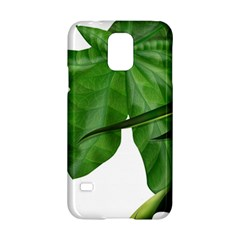 Plant Berry Leaves Green Flower Samsung Galaxy S5 Hardshell Case