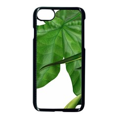 Plant Berry Leaves Green Flower Apple Iphone 7 Seamless Case (black) by BangZart