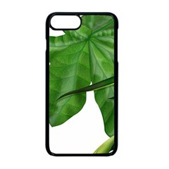 Plant Berry Leaves Green Flower Apple Iphone 8 Plus Seamless Case (black) by BangZart