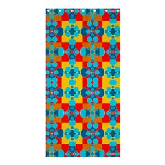 Pop Art Abstract Design Pattern Shower Curtain 36  X 72  (stall)  by BangZart