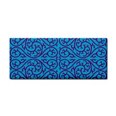 Monogram Blue Purple Background Cosmetic Storage Cases
