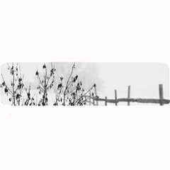 Snow Winter Cold Landscape Fence Large Bar Mats