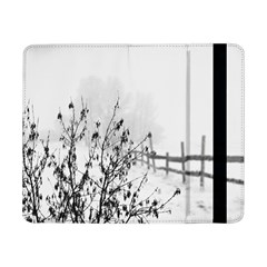 Snow Winter Cold Landscape Fence Samsung Galaxy Tab Pro 8 4  Flip Case