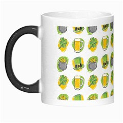 St Patrick S Day Background Symbols Morph Mugs