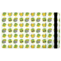 St Patrick S Day Background Symbols Apple Ipad 3/4 Flip Case