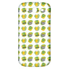 St Patrick S Day Background Symbols Samsung Galaxy S3 S Iii Classic Hardshell Back Case by BangZart