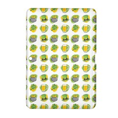 St Patrick S Day Background Symbols Samsung Galaxy Tab 2 (10 1 ) P5100 Hardshell Case