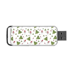 Christmas Santa Claus Decoration Portable Usb Flash (two Sides) by BangZart