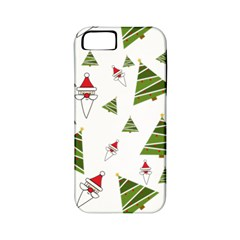 Christmas Santa Claus Decoration Apple Iphone 5 Classic Hardshell Case (pc+silicone) by BangZart