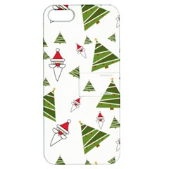 Christmas Santa Claus Decoration Apple Iphone 5 Hardshell Case With Stand by BangZart