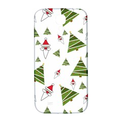 Christmas Santa Claus Decoration Samsung Galaxy S4 I9500/i9505  Hardshell Back Case