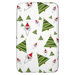 Christmas Santa Claus Decoration Samsung Galaxy Tab 3 (8 ) T3100 Hardshell Case
