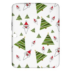 Christmas Santa Claus Decoration Samsung Galaxy Tab 3 (10 1 ) P5200 Hardshell Case