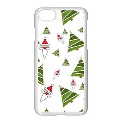 Christmas Santa Claus Decoration Apple Iphone 8 Seamless Case (white)