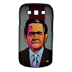 George W Bush Pop Art President Usa Samsung Galaxy S Iii Classic Hardshell Case (pc+silicone) by BangZart