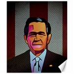 George W Bush Pop Art President Usa Canvas 8  x 10  10.02 x8 Canvas - 1