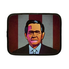 George W Bush Pop Art President Usa Netbook Case (small)