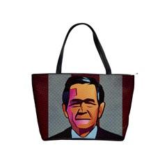 George W Bush Pop Art President Usa Shoulder Handbags
