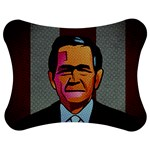 George W Bush Pop Art President Usa Jigsaw Puzzle Photo Stand (Bow) Front