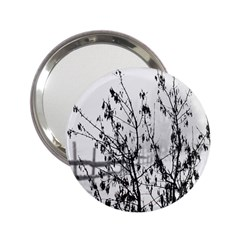 Snow Winter Cold Landscape Fence 2 25  Handbag Mirrors