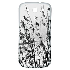 Snow Winter Cold Landscape Fence Samsung Galaxy S3 S Iii Classic Hardshell Back Case by BangZart