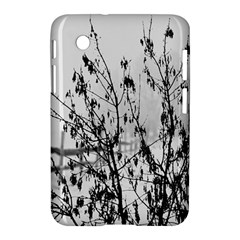 Snow Winter Cold Landscape Fence Samsung Galaxy Tab 2 (7 ) P3100 Hardshell Case
