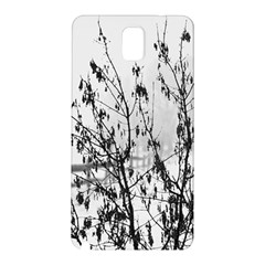 Snow Winter Cold Landscape Fence Samsung Galaxy Note 3 N9005 Hardshell Back Case