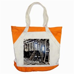 House Old Shed Decay Manufacture Accent Tote Bag