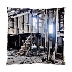 House Old Shed Decay Manufacture Standard Cushion Case (two Sides)
