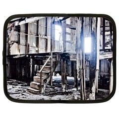 House Old Shed Decay Manufacture Netbook Case (xxl)