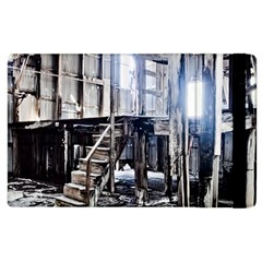 House Old Shed Decay Manufacture Apple Ipad 2 Flip Case by BangZart