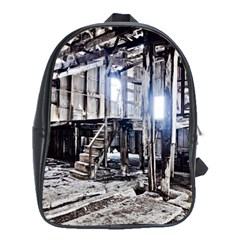 House Old Shed Decay Manufacture School Bag (xl) by BangZart