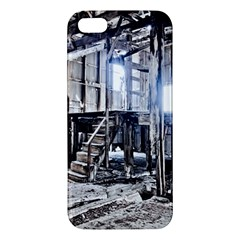 House Old Shed Decay Manufacture Apple Iphone 5 Premium Hardshell Case
