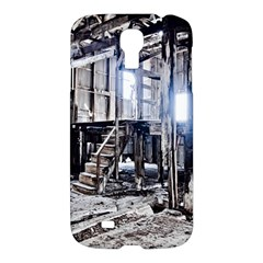 House Old Shed Decay Manufacture Samsung Galaxy S4 I9500/i9505 Hardshell Case