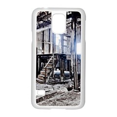 House Old Shed Decay Manufacture Samsung Galaxy S5 Case (white)