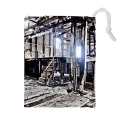 House Old Shed Decay Manufacture Drawstring Pouches (extra Large)