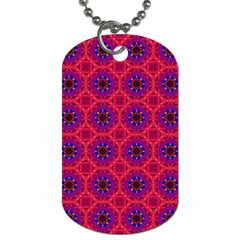 Retro Abstract Boho Unique Dog Tag (one Side) by BangZart