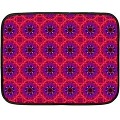 Retro Abstract Boho Unique Double Sided Fleece Blanket (mini)