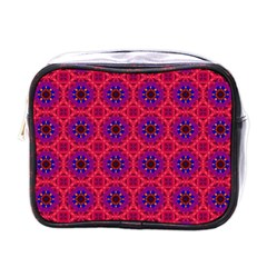 Retro Abstract Boho Unique Mini Toiletries Bags