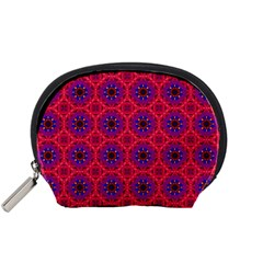 Retro Abstract Boho Unique Accessory Pouches (small)