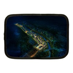 Commercial Street Night View Netbook Case (medium)