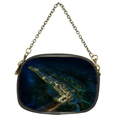 Commercial Street Night View Chain Purses (one Side)