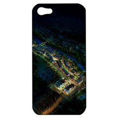 Commercial Street Night View Apple Iphone 5 Hardshell Case
