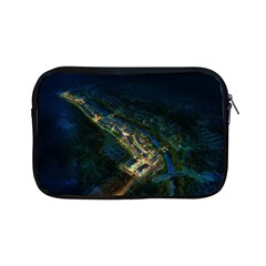 Commercial Street Night View Apple Ipad Mini Zipper Cases