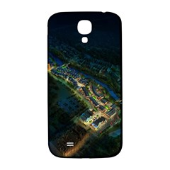 Commercial Street Night View Samsung Galaxy S4 I9500/i9505  Hardshell Back Case