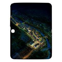 Commercial Street Night View Samsung Galaxy Tab 3 (10 1 ) P5200 Hardshell Case