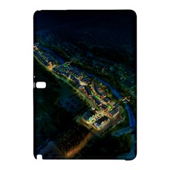 Commercial Street Night View Samsung Galaxy Tab Pro 12 2 Hardshell Case